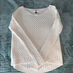 White old navy sweater,size XS